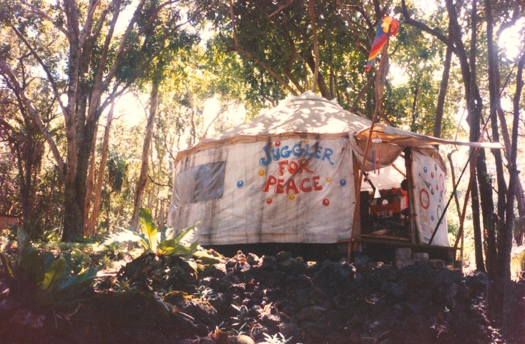 Graham's Yurt 1987